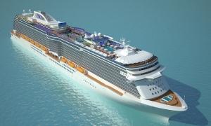Новый роскошный круизный лайнер Royal Princess от Princess Cruises