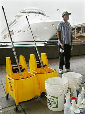 Вакансии уборщиков на круизные лайнеры Royal Caribbean